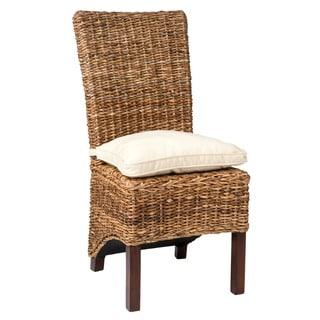 Roslyn Casual Tan Brown Chair