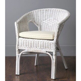 Ruston Rustic White Chair