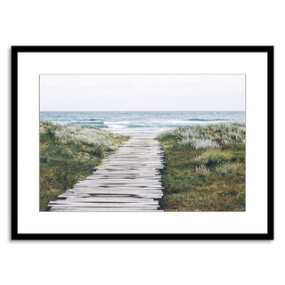 Gallery Direct New Era Originals 'Path to the Coast' Paper Framed