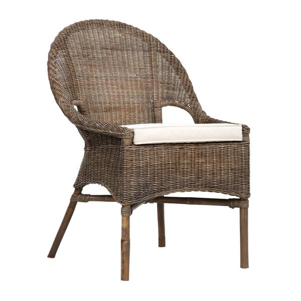 Shop Ruston Rustic Grey Textured Chair Free Shipping