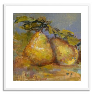 Gallery Direct Sylvia Angeli 'Pair of Pears' Paper Framed