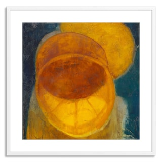 Gallery Direct Sylvia Angeli 'Citrus Eclipse' Paper Framed