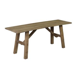 Elgin Rustic Brown Distressed Bench