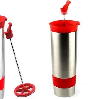 Hot Press Vacuum Insulated Coffee and Tea Tumbler