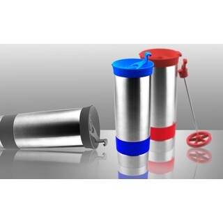 Hot Press Vacuum Insulated Coffee and Tea Tumbler