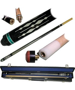 Designer Image 2-piece Billard Pool Stick w/ Case
