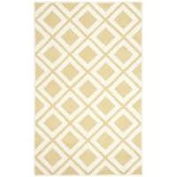 Safavieh Handmade Chatham Gold/ Ivory Wool Rug (8' x 10')