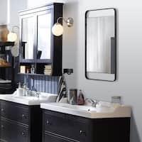 Shop Renwil Fabio Framed Rectangular Wall Mirror On Sale