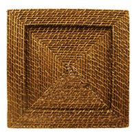 Harvest Rattan Charger Plate (Set of 4)