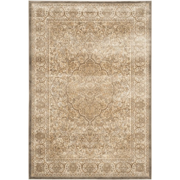 Safavieh Paradise Mouse/ Silver Viscose Rug - 8' x 11'2