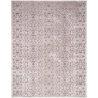 Safavieh Paradise Mauve/ Violet Viscose Rug (4' x 6')