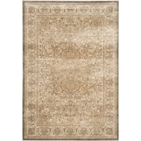 Safavieh Paradise Mouse/ Silver Viscose Rug - 4' x 5'7