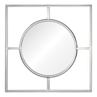 Ren Wil Bevelled Wakou Framed Wall Mirror