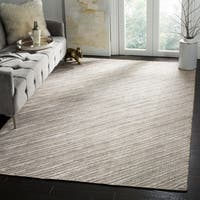 Safavieh Handmade Mirage Modern Grey Wool/ Viscose Area Rug - 8' x 10'