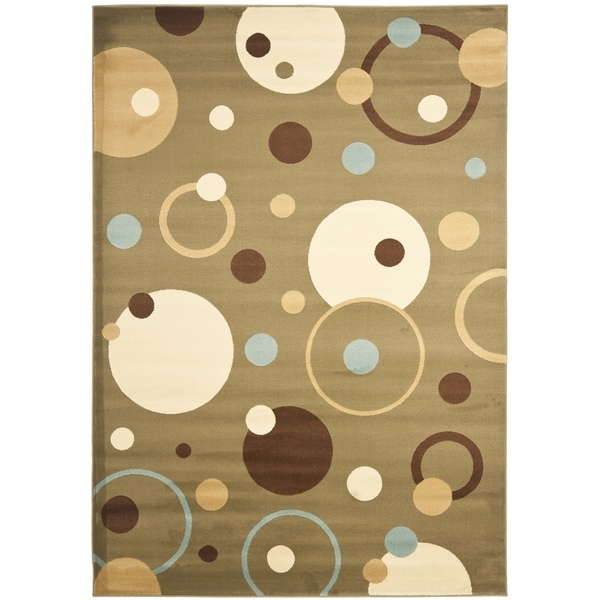 Safavieh Lyndhurst Contemporary Blue/ Multi Rug - 8' X 11'