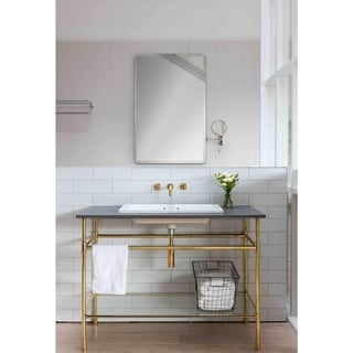 Ren Wil Bevelled Talley Unframed Mirror