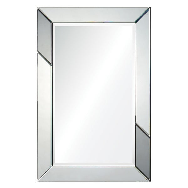 Ren Wil Bevelled Shunpei Framed Wall Mirror