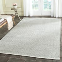 Safavieh Hand-Tufted Boston Navy Cotton Rug - 6' x 9'