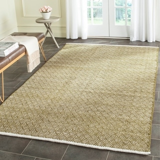 Safavieh Handmade Boston Tilla Coastal Cotton Rug (5 x 8 - Olive)
