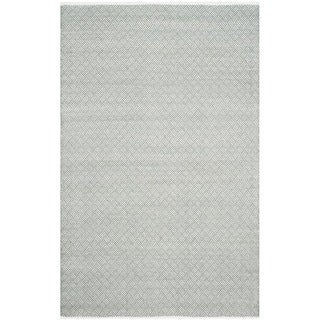 Safavieh Handmade Boston Tilla Coastal Cotton Rug (4 x 6 - Grey)