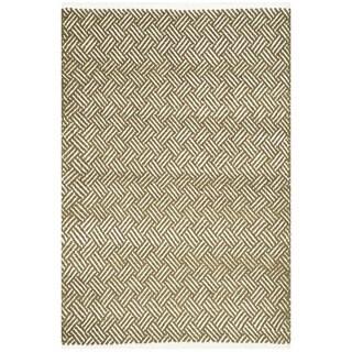 Safavieh Handmade Boston Tilla Coastal Cotton Rug (3 x 5 - Olive)