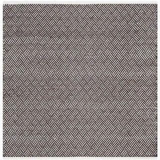 Safavieh Handmade Boston Tilla Coastal Cotton Rug (4 x 4 Square - Brown)