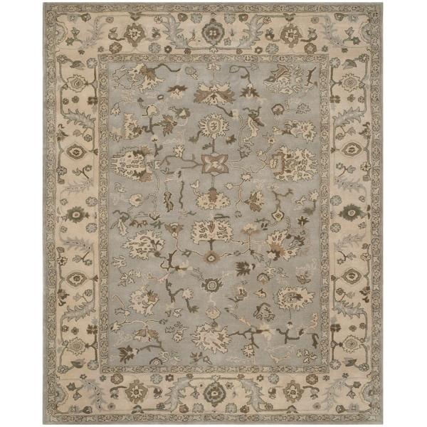 6 X9 Handmade Persian Wool Silk Area Rug Oriental Design: Shop Safavieh Handmade Heritage Louisa Traditional Beige