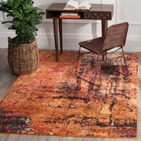 Safavieh Monaco Abstract Multicolored Distressed Rug - multi - 6'7 x 9'2
