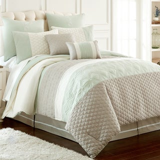 Amrapur Overseas Palisades Embroidered 8-Piece Comforter Set