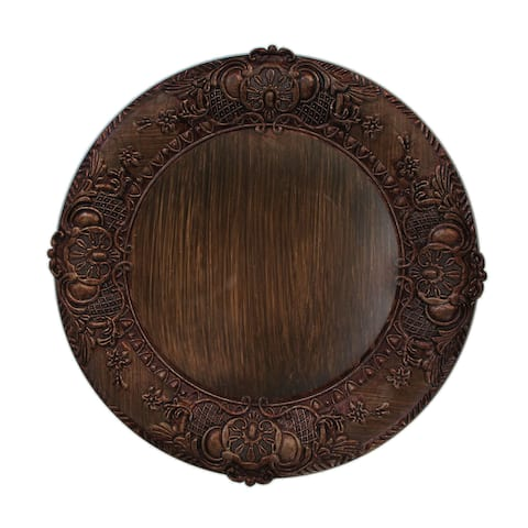 14-inch Embossed Charger Plate