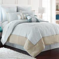 Amrapur Overseas Saint Tropez 8-Piece Embroidered Comforter Set