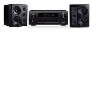 M&K Sound S300 Monitor Speaker 2.0 Denon AVR-X5200W