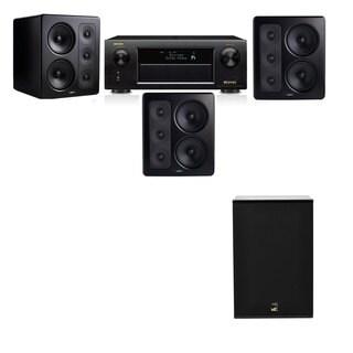 M&K Sound S300 Monitor Speaker 3.1 X12 Denon AVR-X5200W
