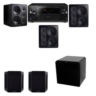 M&K Sound S300 Monitor Speaker 5.1 HRS12 Pioneer Elite SC-89
