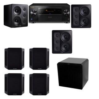 M&K Sound S300 Monitor Speaker 7.1 HRS12 Pioneer Elite SC-89