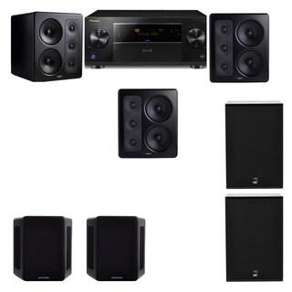 M&K Sound S300 Monitor Speaker 5.2 X12 Pioneer Elite SC-89