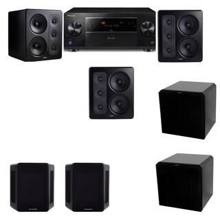 M&K Sound S300 Monitor Speaker 5.2 HRS12 Pioneer Elite SC-89