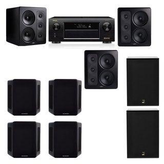 M&K Sound S300 Monitor Speaker 7.2 X12 Denon AVR-X5200W