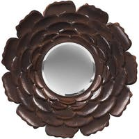 "Decorative Maddie Accent Mirror - 32"" x 32"" - Bronze"