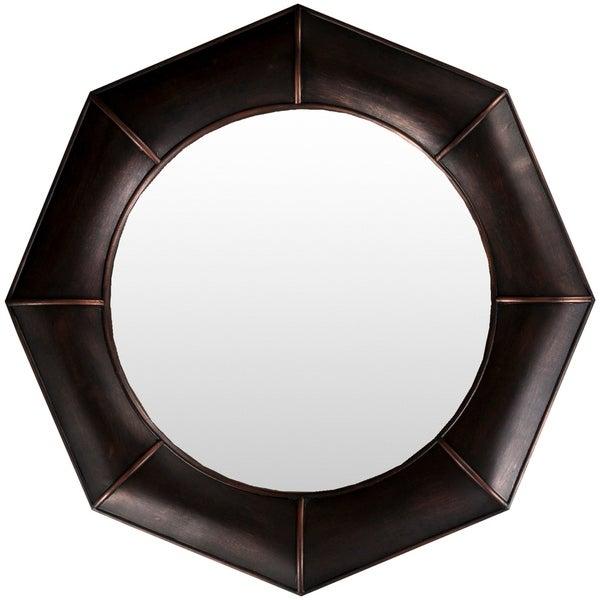 "Decorative Felicity Accent Mirror - 32"" x 32"" - Bronze - 32"" x 32"""