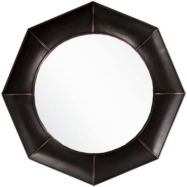 "Decorative Felicity Accent Mirror - 32"" x 32"" - Bronze"
