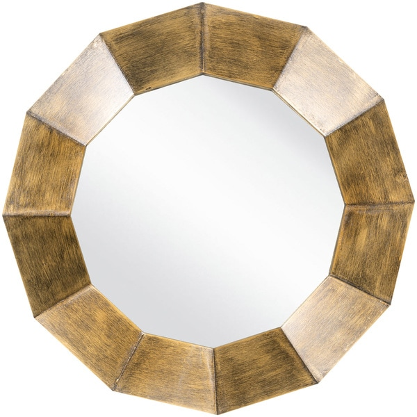 "Decorative Felicia Accent Mirror - 30"" x 30"" - Bronze"