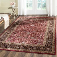 Safavieh Persian Garden Red/ Brown Viscose Rug - 5'1 x 7'7