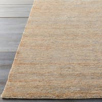 Hand-Knotted Joselyn Solid Indoor Jute Area Rug (2' x 3')