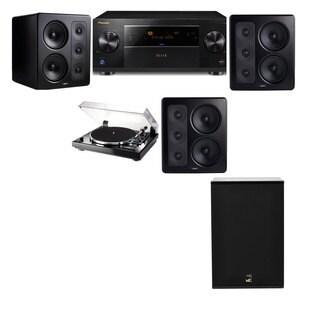 M&K Sound S300 Monitor Speaker 3.1 Thorens TD-240-2 X12 Pioneer Elite SC-89