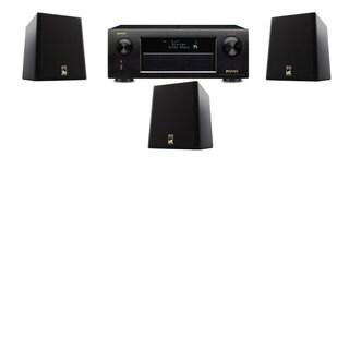 M&K Sound S150II Loudspeaker 3.0 Denon AVR-X5200W
