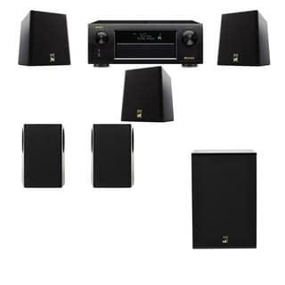 M&K Sound S150II Loudspeaker 5.1 X12 Denon AVR-X5200W