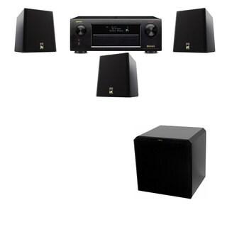 M&K Sound S150II Loudspeaker 3.1 HRS12 Denon AVR-X5200W