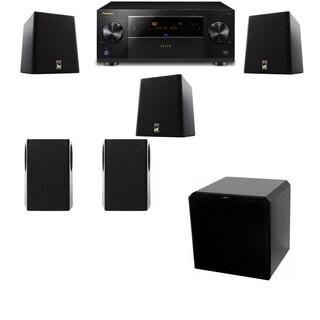 M&K Sound S150II Loudspeaker 5.1 HRS12 Pioneer Elite SC-89