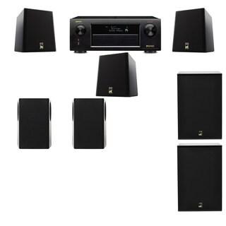 M&K Sound S150II Loudspeaker 5.2 X12 Denon AVR-X5200W
